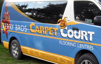 Carpet Court Vehicle