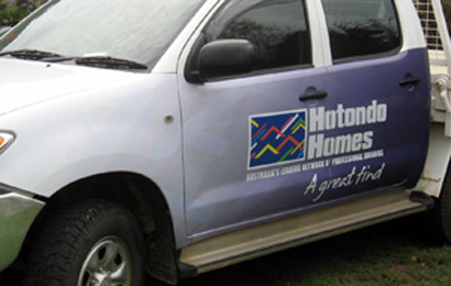 Hotondo Homes Vehicle