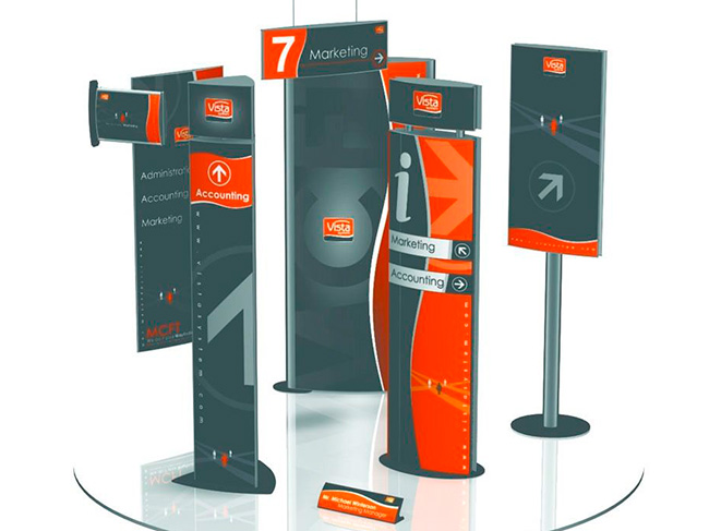 or Wayfinding Systems